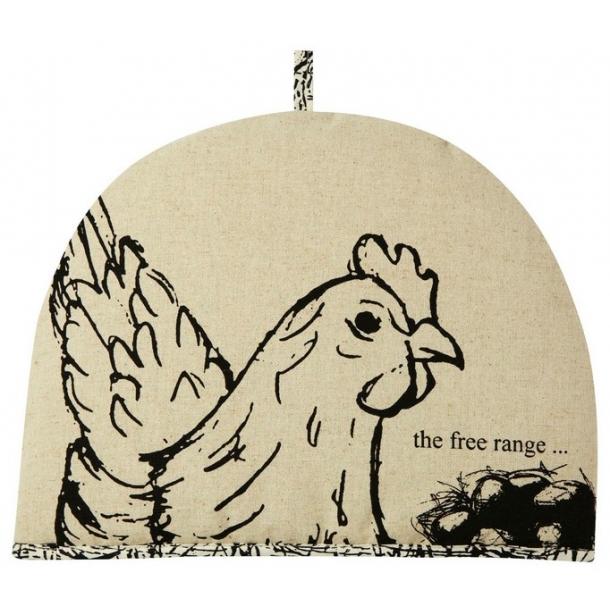 Tehætte med høne