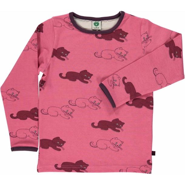 Langærmet t-shirt med killinger