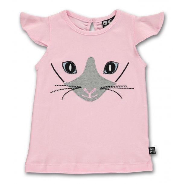 Ubang - T-shirt med kat
