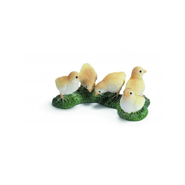 Schleich - Hane, høne og kyllinger